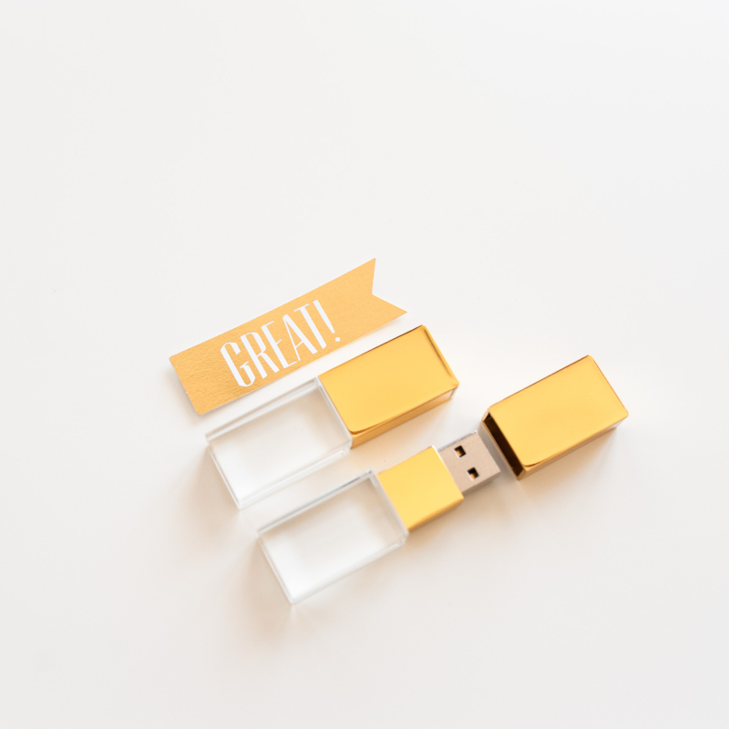 Pendrive 3.0 16 GB Gold Crystal